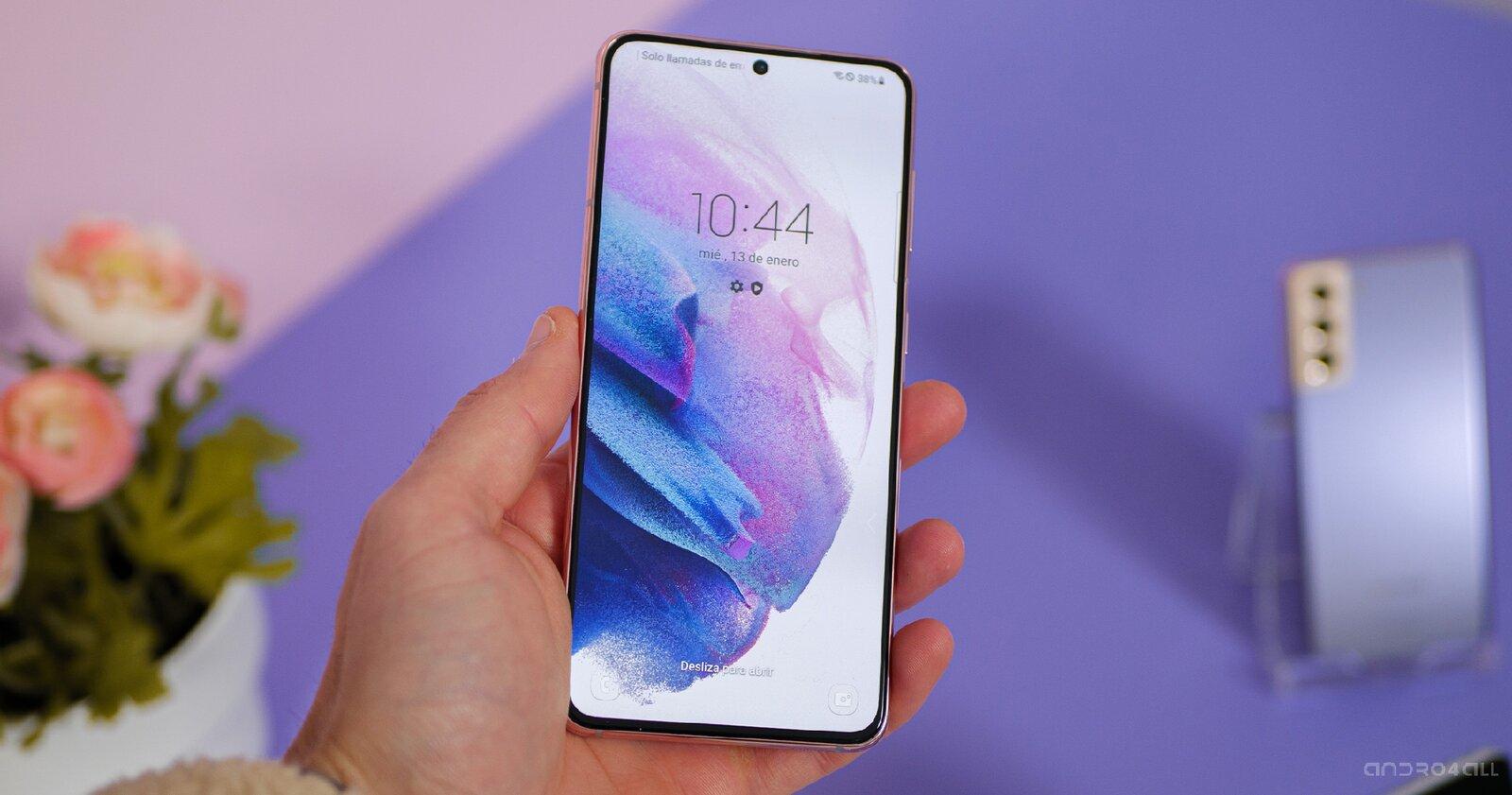 L'écran du Samsung Galaxy S21