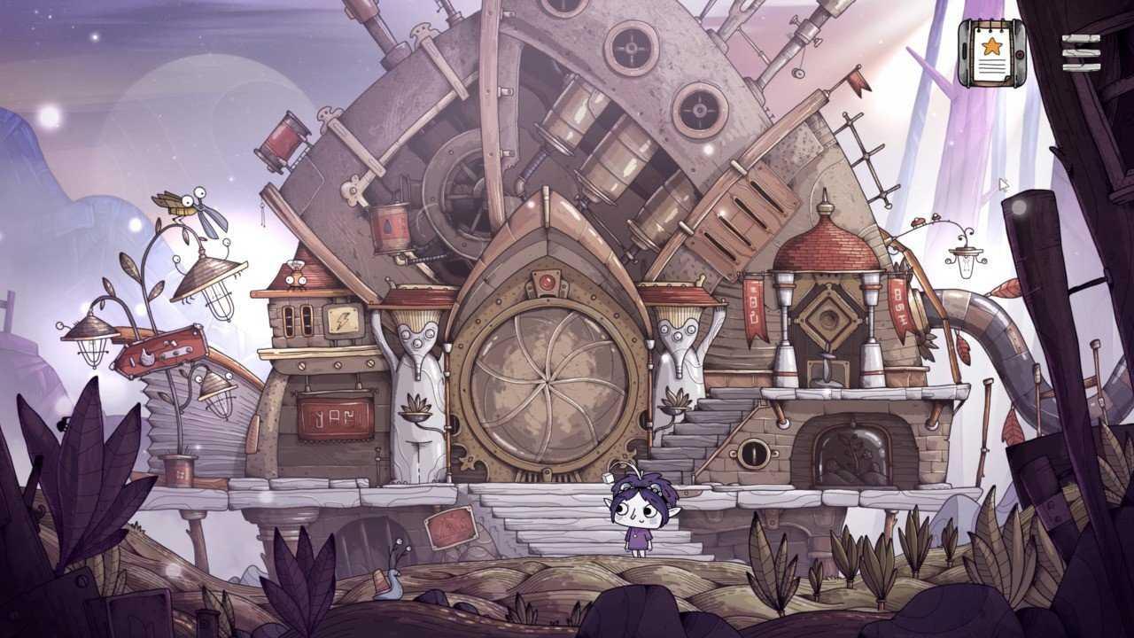 Tohu est un jeu d'aventure mignon et dessiné à la main qui pointe et clique sur PS4 ce mois-ci