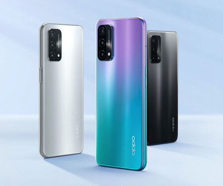 Couleurs Oppo A93 5g