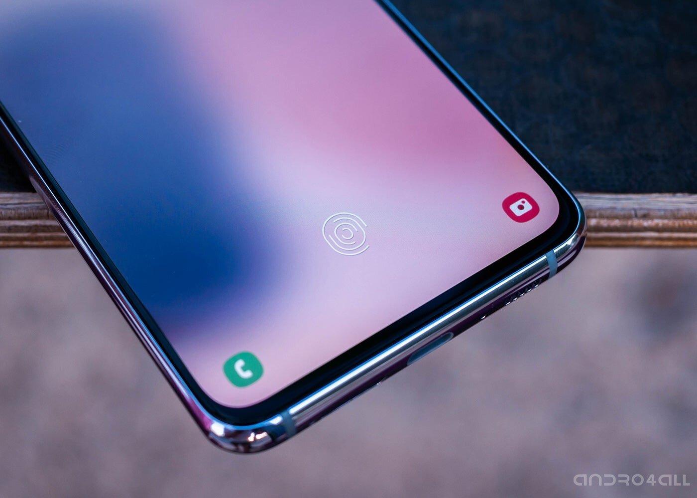 Lecteur d'empreintes digitales Samsung Galaxy A80