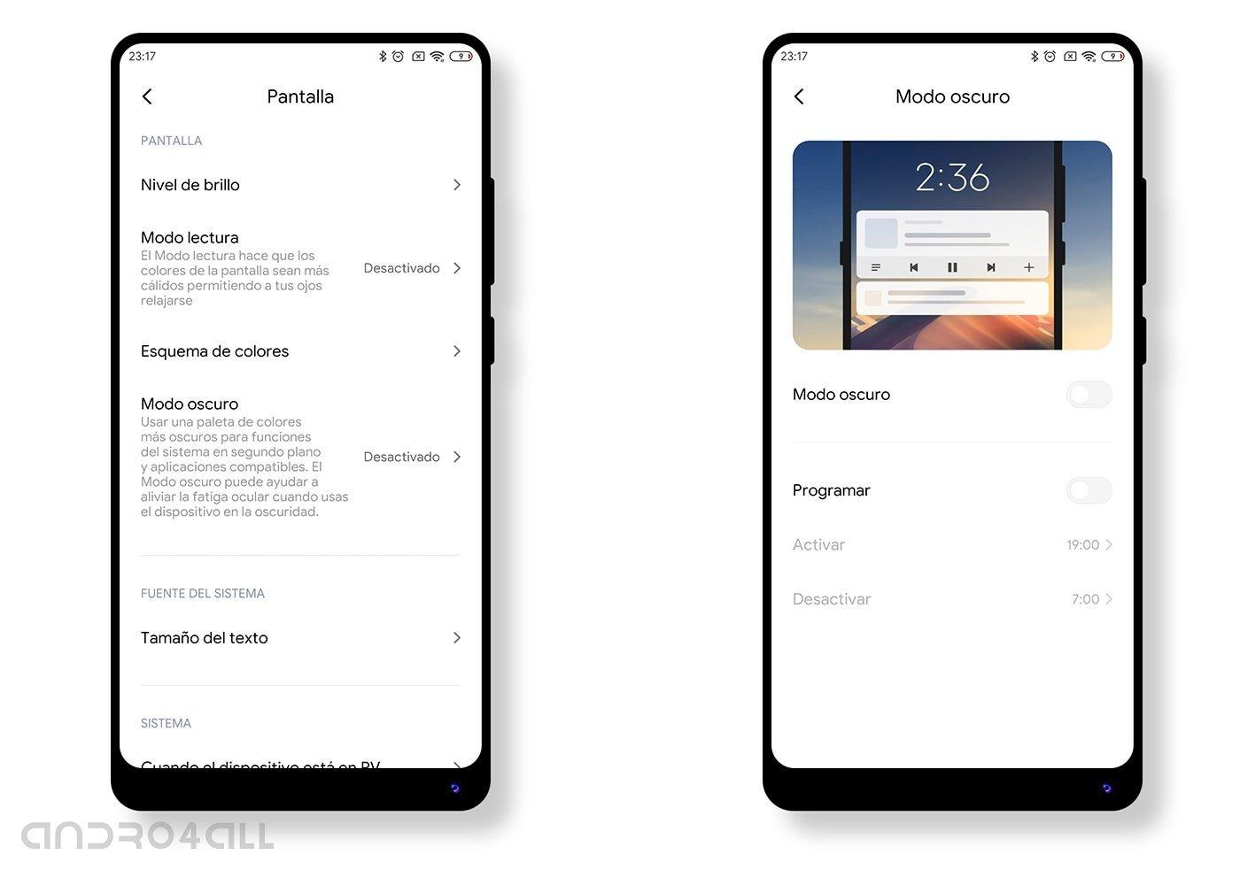 Comment activer le mode sombre dans les paramètres de votre Xiaomi