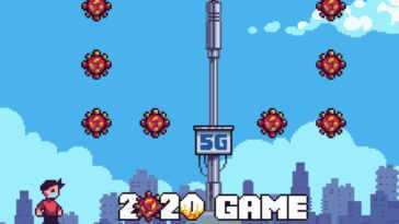 '2020 Game' est un jeu fantastique qui revit tous les événements de 2020 sur une base de plateforme
