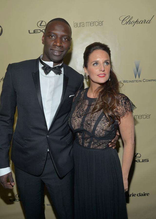 Omar Sy et Hélène Sy ensemble (Photo: Zimbio)