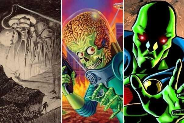 Attention à la planète rouge!  Les neuf martiens les plus célèbres de tous les temps