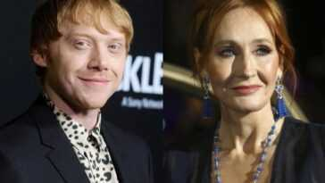 Rupert Grint discute de sa position face aux commentaires de JK Rowling