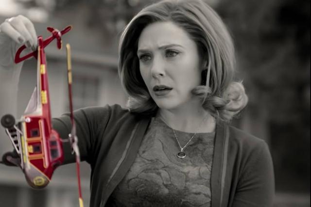 Wanda deviendra-t-elle un ennemi de SWORD ou les aidera-t-il à trouver la vérité?  (Photo: Marvel / Disney +)