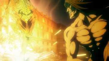 """""""Attaque sur Titan"""": Eren Jaeger contre Titan Warhammer"""