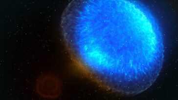 Un Crash D'étoile à Neutrons Repéré Il Y A 3