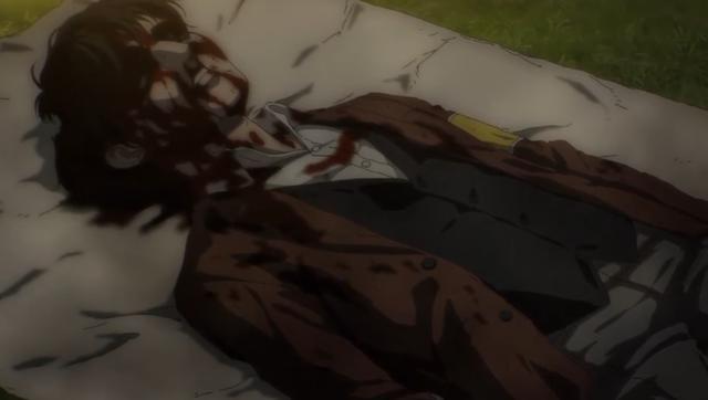 Udo est mort en essayant de sauver Zofia (Photo: MAPPA Studio)