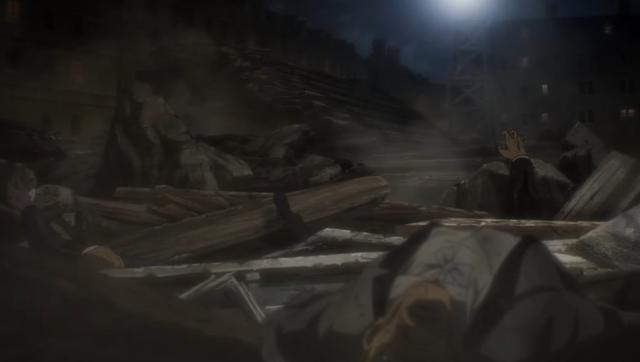 Des civils et des militaires sont morts dans l'attaque d'Eren (Photo: MAPPA Studio)