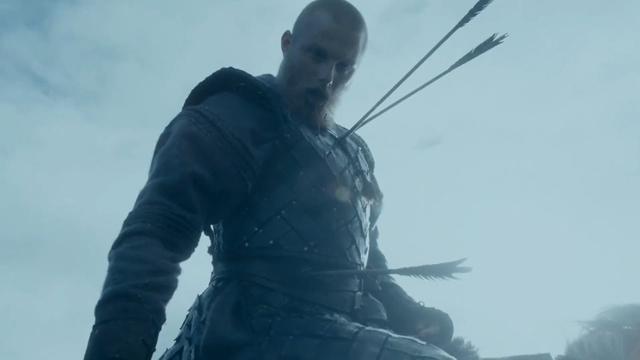 Bjorn Ironside est mort après que plusieurs flèches soient tombées de ses ennemis (Photo: Histoire)