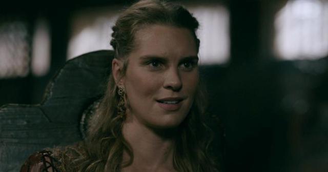 "Ragga Ragnars a joué Gunnhild dans ""Vikings"" (Photo: History Channel)"
