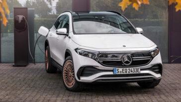 Nous Connaissons Déjà Et Conduisons (brièvement) La Nouvelle Mercedes Benz Eqa