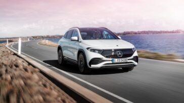 Mercedes Benz Eqa. Le Suv électrique Le Plus Petit Et Le