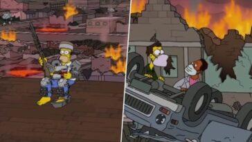Les Simpson prédisent la fin du monde pour le 20 janvier 2021