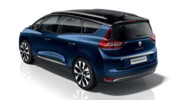 Déjà Sans Diesel. Renault Grand Scénic Se Renouvelle Avec Plus