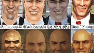 L'évolution du visage de l'agent 47 fait du carburant de cauchemar