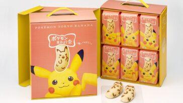 Vous pouvez maintenant acheter une boîte spéciale de friandises pikachu en forme de banane à Tokyo