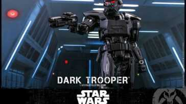 Figurine Dark Trooper Hot Toys Du Mandalorian Révélée