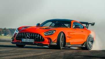 Déjà Arrivé. Le Stig A Conduit La Mercedes Amg Gt Black