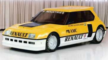 Est Ce Dans Cette Renault 5 Turbo Que S'est Inspiré Le