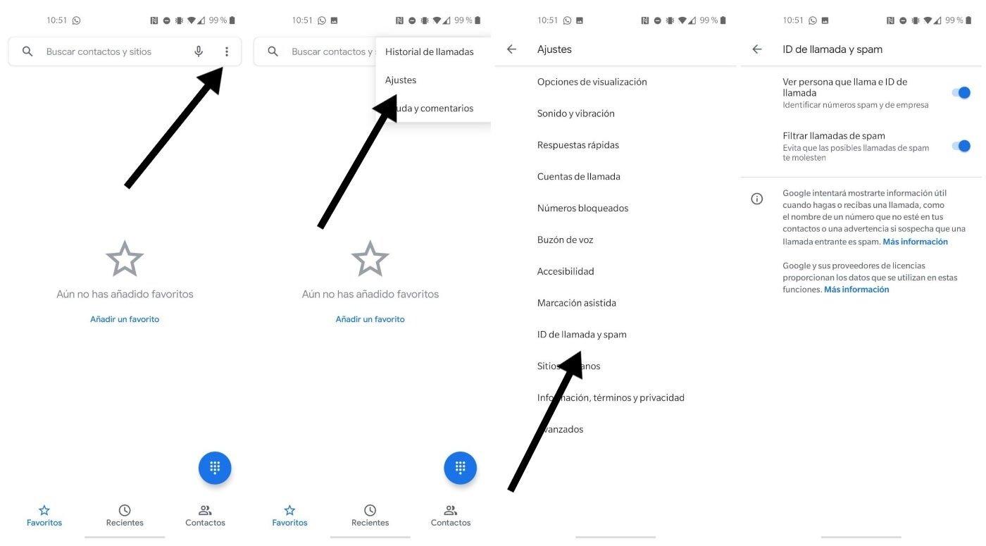 Bloquer les appels de spam sur le téléphone Google