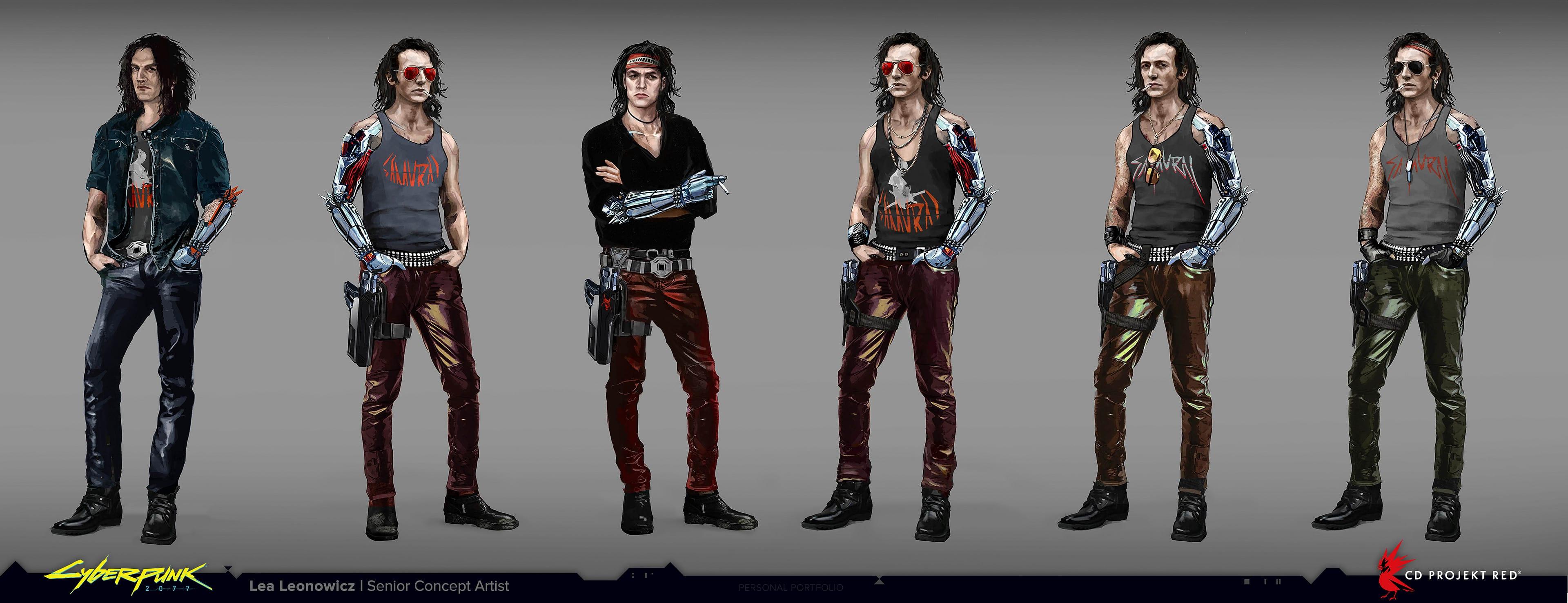 Cyberpunk 2077 Concept Johnny Silverhand