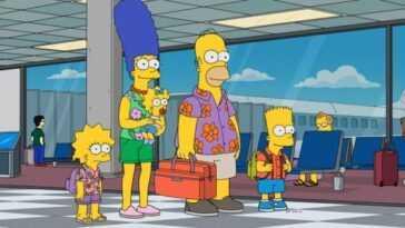 Fox lance un marathon avec les voyages des Simpsons à travers le monde