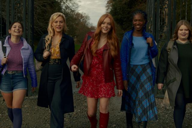 Lorsque Bloom et ses amis sont revenus à Alfea, ils ont eu une grosse surprise (Photo: Netflix)