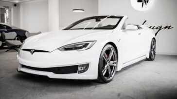 Une Tesla Model S Convertible? Ares Design A Déjà Créé