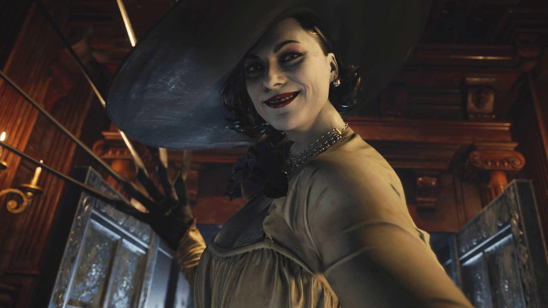 Resident Evil 8 - Lady Dimitrescu en action