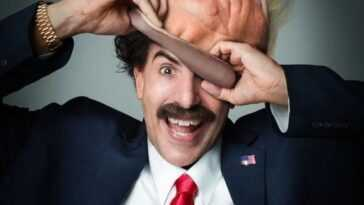 Borat 2: Sacha Baron Cohen a eu peur avec une séquence