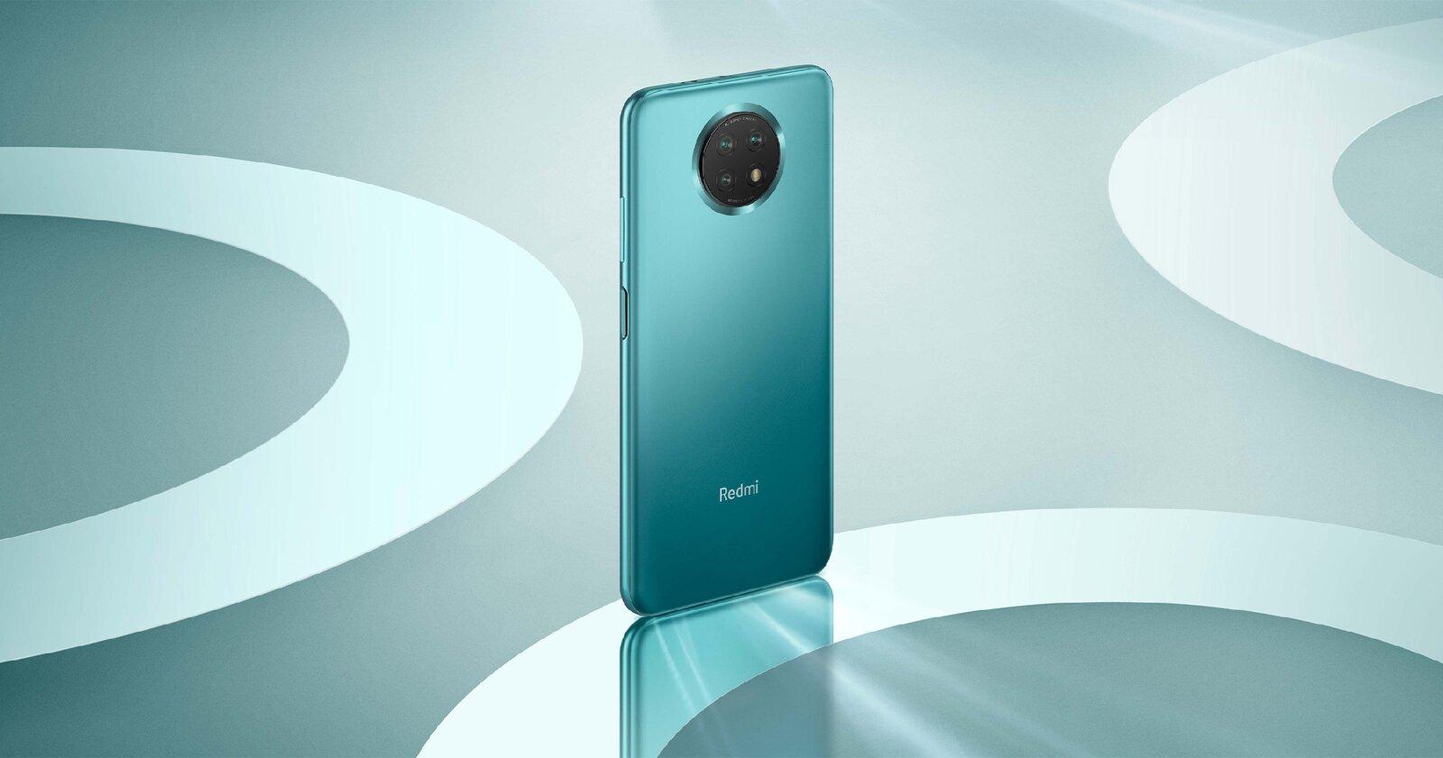Redmi Note 9T de couleur bleue