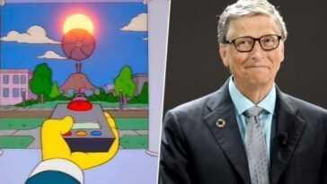 Nouvelle prédiction des Simpsons!  Bill Gates veut couvrir le soleil