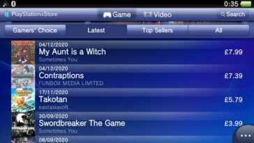 Nouvelles versions de la boutique PS Vita mises à jour pour la première fois depuis des lustres