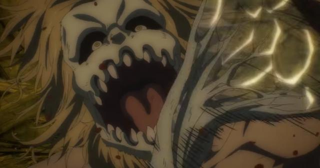 Porco ne pouvait rien faire contre Eren et ses amis (Photo: Crunchyroll)