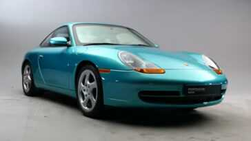 Il S'agit De La Seule Porsche 911 Blindée De Série.