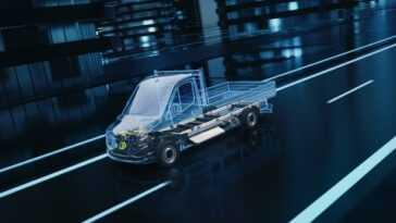 Mercedes Benz Vans Développe Une Nouvelle Plateforme électrique Pour Esprinter