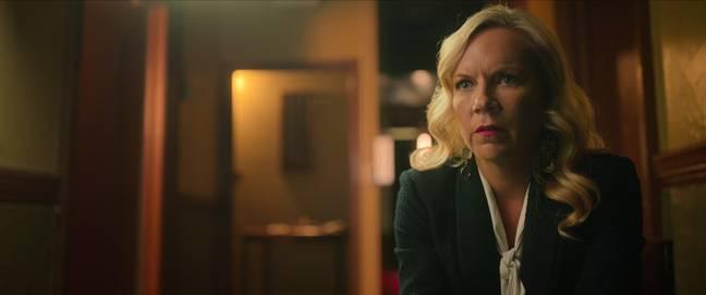 Amy Price, directrice générale de l'hôtel Cecil.  Crédit: Netflix