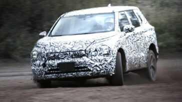Le Nouveau Mitsubishi Outlander Se Laisse Voir Dans Les Tests