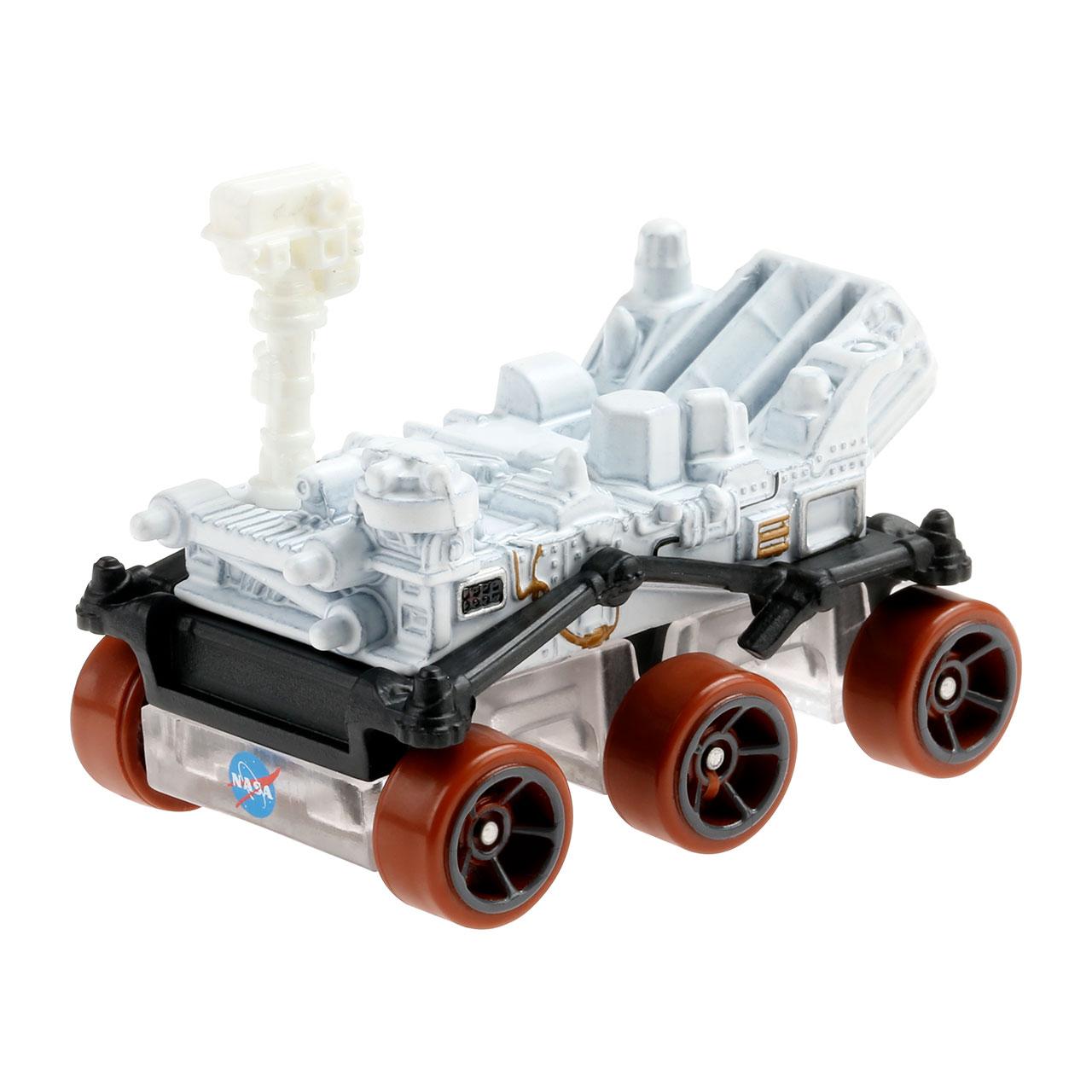 Hot Wheels Mars Perseverance Rover comprend un mât de caméra rotatif et un brun rougeâtre