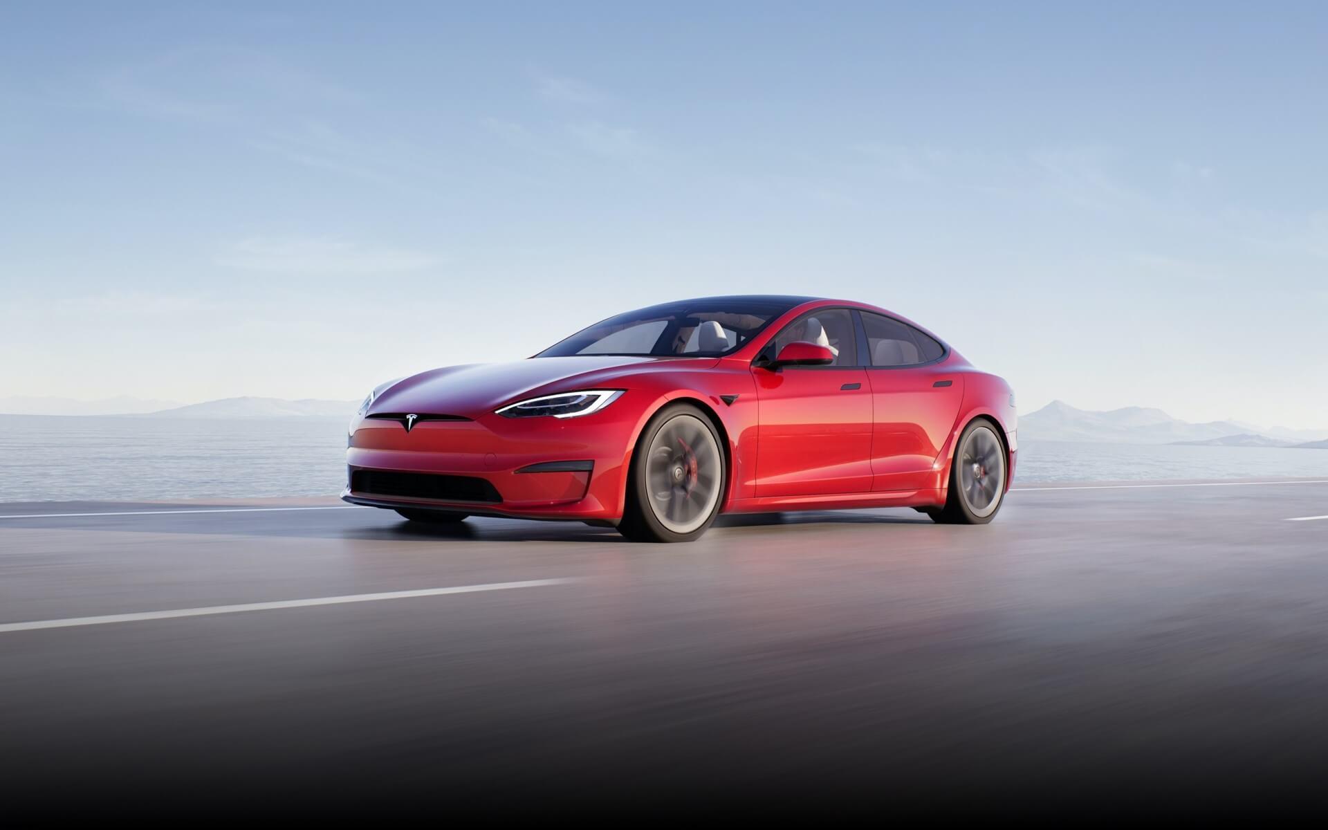 Plaid Tesla Model S