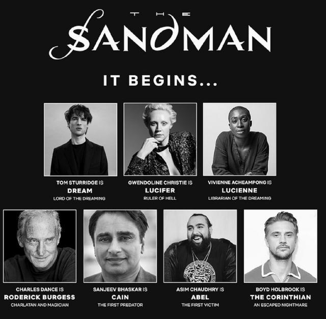 """Voici les acteurs de """"The Sandman"""" (Photo: Netflix)"""