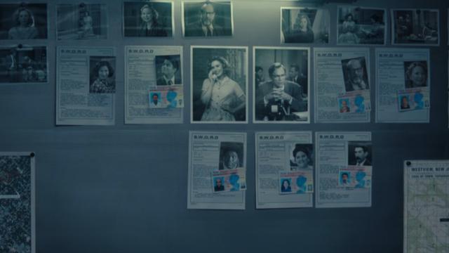 Le FBI a identifié peu de personnes dans la réalité de Wanda (Photo: Disney Plus)