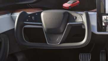 Le Volant Des Nouvelles Tesla Model S Et Model X