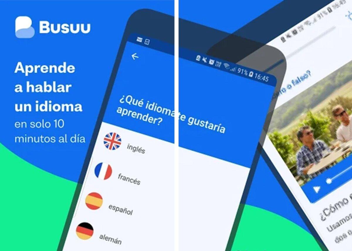 Busuu pour apprendre à parler allemand