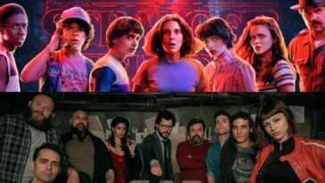 La Casa de Papel et Stranger Things: dans quel état se déroule le tournage de la série