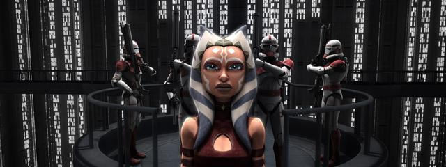 "Épisode dans ""The Wrong Jedi"" où ils accusent injustement Ahsoka Tano (Photo: Disney Plus)"