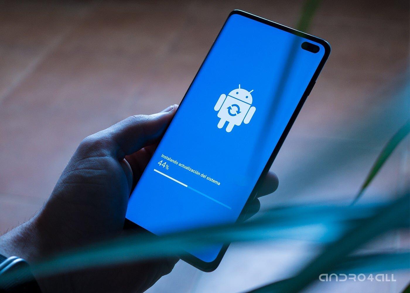 Mise à jour du système sur Samsung Galaxy S10