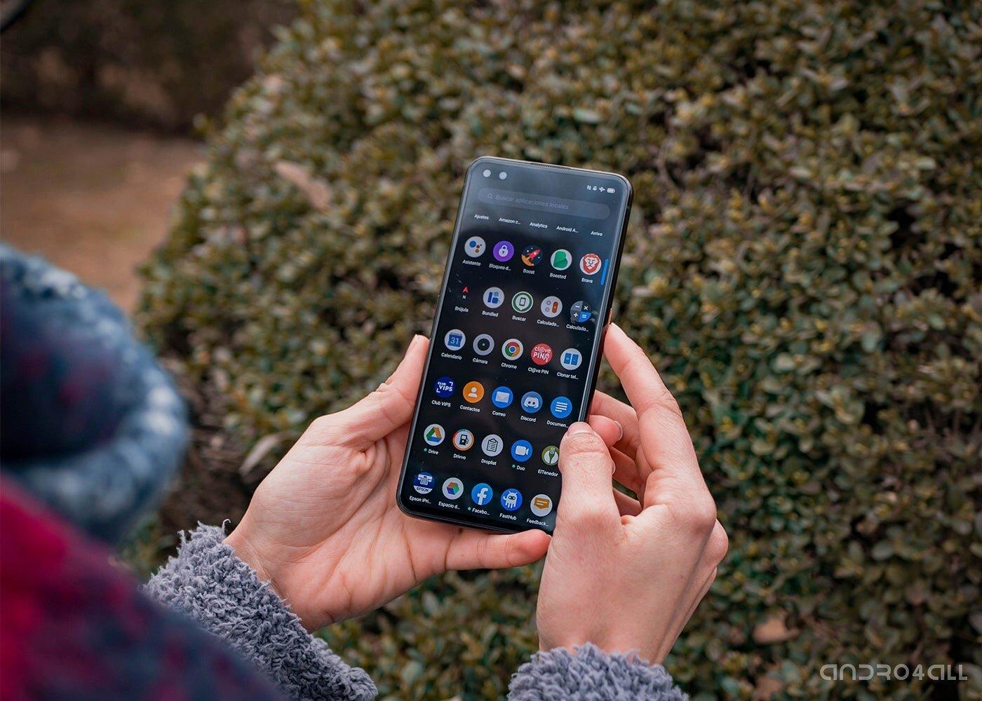 Applications Android sur le Realme X50 Pro